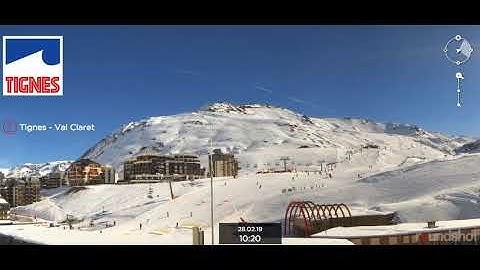 Webcam sur le secteur de Tignes