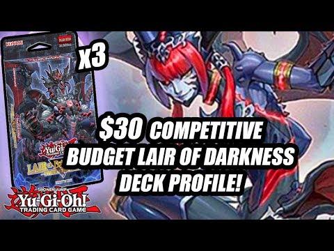 Yu-Gi-Oh! BEST $30 BUDGET DARKEST DIABOLOS DECK PROFILE! 3X LAIR OF DARKNESS DECK PROFILE! 2018