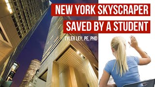 Citicorp Center | NYC skyscraper saved by a students question