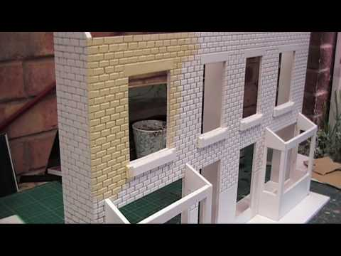 Designing The Greatest Modelling Railway Train Track-How to build 16mm scale Garden Railway Bay Window Houses