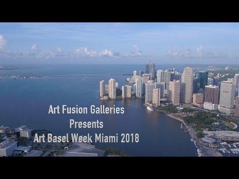 Wynwood's Art Fusion Galleries Presents Art Basel Miami Week 2018