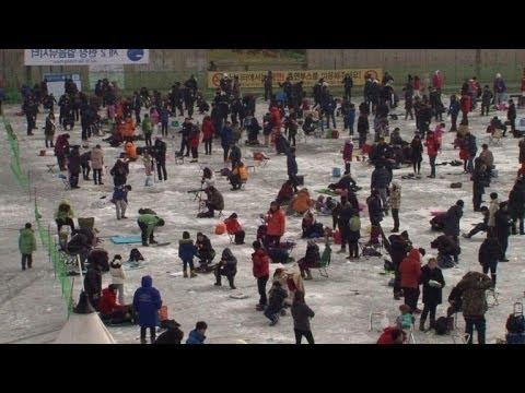 South Korea's ice festival draws thousands