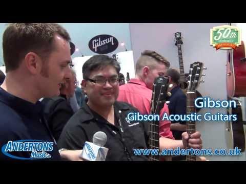 NAMM 2014 Gibson Acoustic Guitars