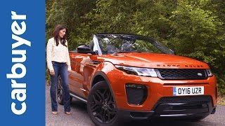 Range Rover Evoque Convertible review 2016 - Carbuyer