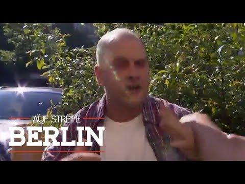 Pfefferspray Angriff auf Verdächtigen - Wo ist sein Komplize? | Auf Streife - Berlin | SAT.1 TV