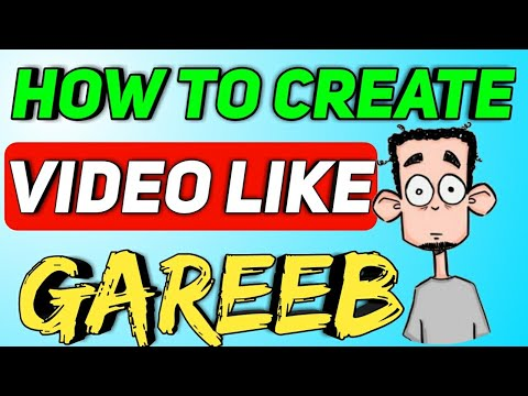 How To Create Video Like Gareeb And Other Roasting Video Channels | Gareeb Ki Trah Video Kaise Banay