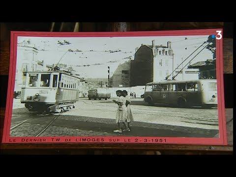 Paroles d'anciens : Edouard, ancien chauffeur de trolley à Limoges
