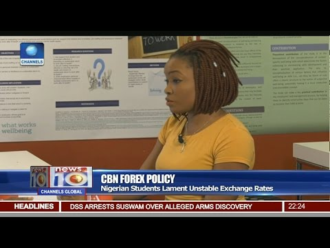 News@10: Nigerian Students In UK Lament Unstable Exchange Rates 26/02/17 Pt 2