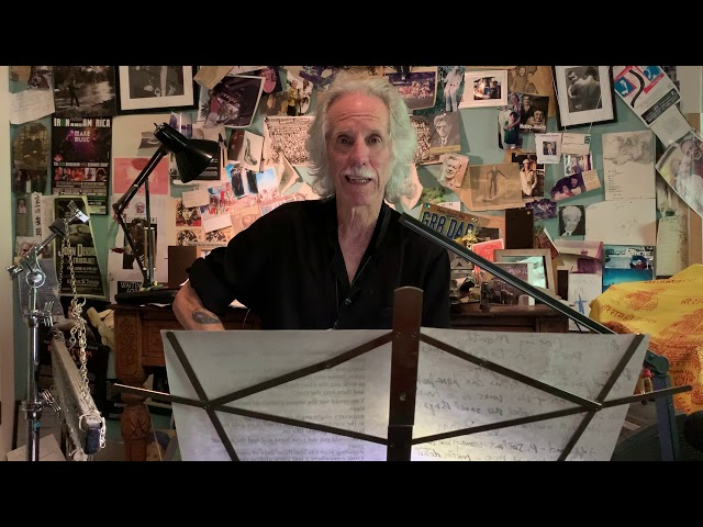 John Densmore Reads Poetry for times of discomfort
