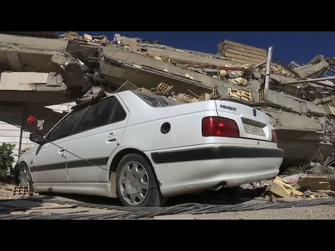 Raw: Over 400 Known Dead In Iran Earthquake