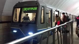 Моментальная пересменка машинистов в московском метро
