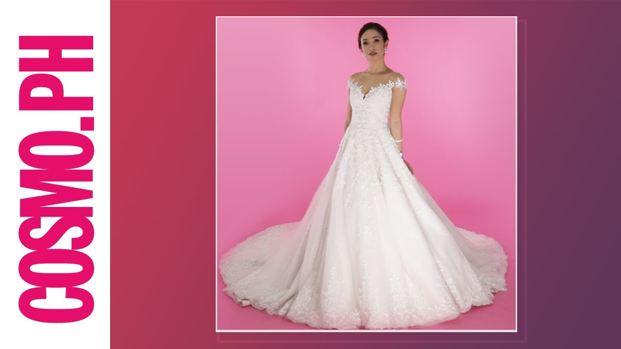 Secondhand Designer Wedding Dresses For Rent - YouTube