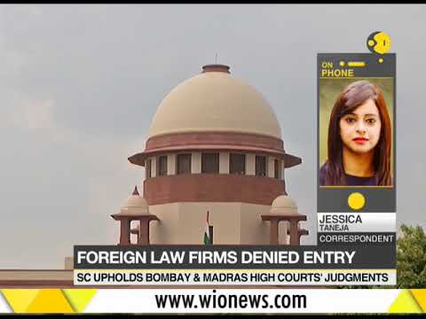 SC bars practice of foreign law firms in India