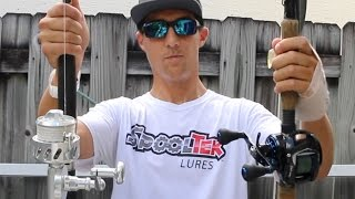 rod reel combo selection for artificial snook fishing tackle tuesday 3