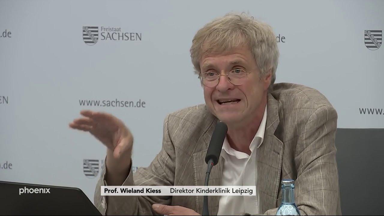 Corona in Sachsens Schulen: Prof. Wieland Kiess zur Studie am 03.08.20