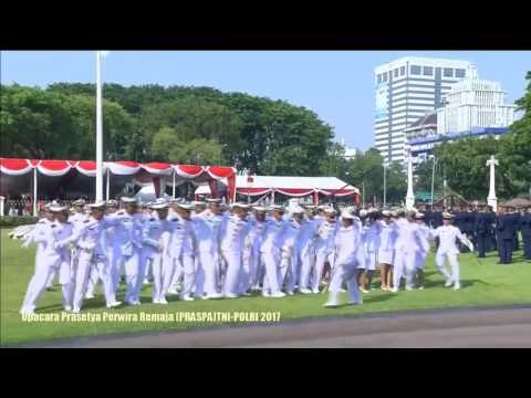 YEL YEL KELULUSAN AAL - Upacara Prasetya Perwira Remaja (PRASPA) TNI-POLRI 2017