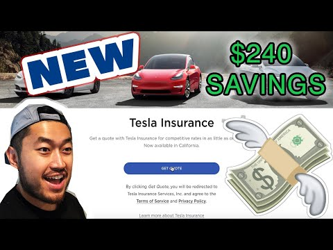 How to SAVE Money w/ Tesla Insurance | Monthly Cost
