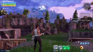 Fortnite Get Copper Ore Rusty Mechanical Parts Weapon Enhancement in Map Mission