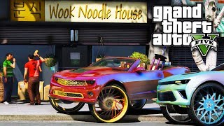 Buying The Wook Noodle Shop! GTA 5 Real Life Mod #95 (Real Hood Life 3)