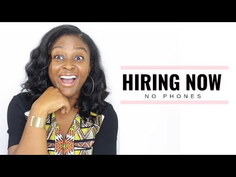 Work at Home Jobs Hiring Now! (No Phones)