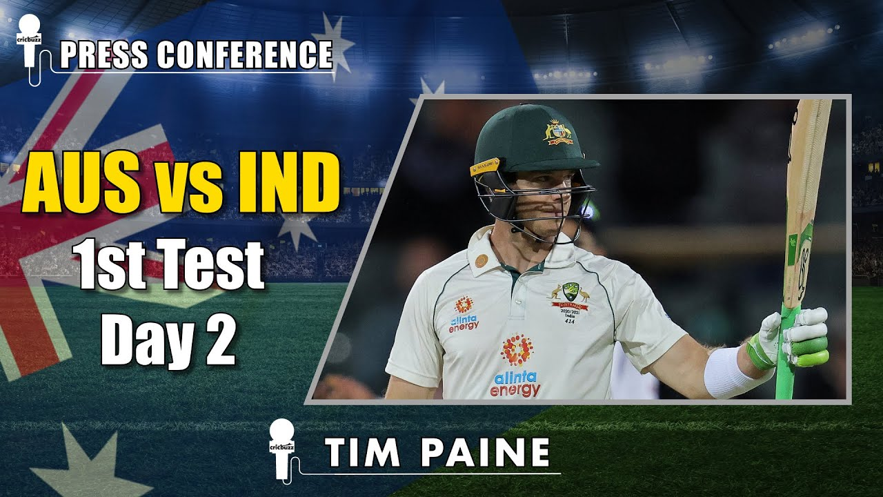 Any Score Will Be A Challenge To Chase With India S Quality Bowling Tim Paine Cric News