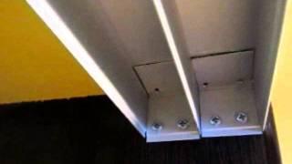 шкаф купе1960 установка как закрепить верхний рельс к натяжному потолку(, 2012-01-29T12:21:39.000Z)