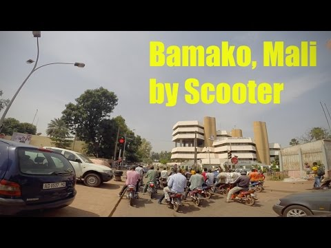 Bamako, Mali by Scooter