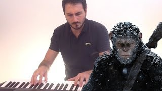 War For The Planet Of The Apes Soundtrack - Exodus Wounds (Piano Cover )