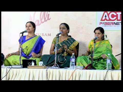 Saindhavi Prakash  l  Sant Pravaham l Bharat Sangeet Utsav ( CBE ) 2016