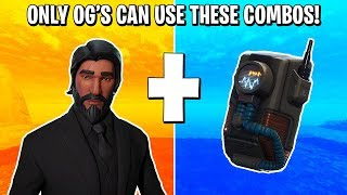 10 SKINS THAT ONLY OG'S CAN USE IN FORTNITE! THESE COMBOS ARE SO CLEAN! (FORTNITE BATTLE ROYALE)