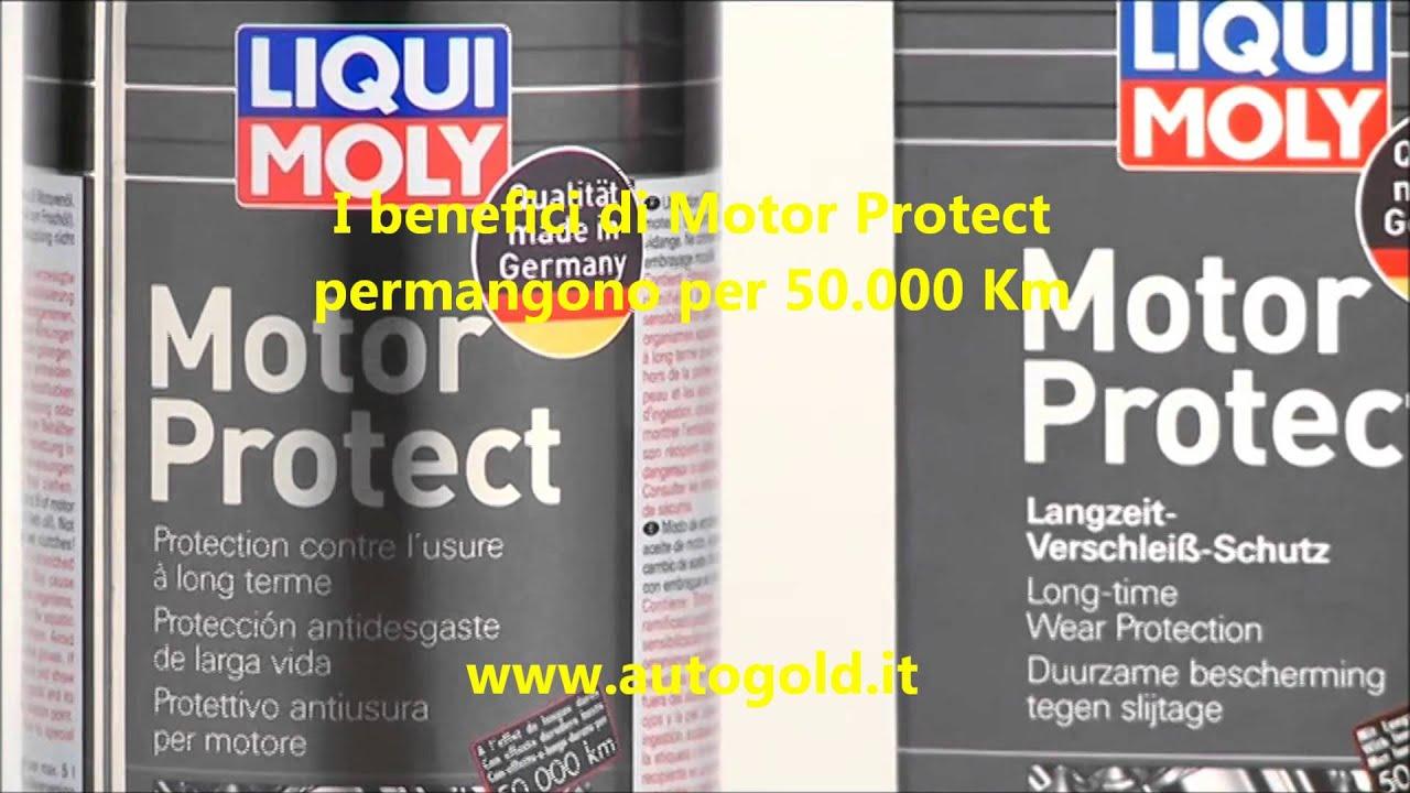 liqui moly motor protect additivo antiattrito olio motore lunga durata youtube. Black Bedroom Furniture Sets. Home Design Ideas