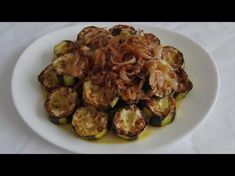 courgettes-à-l'oignon-recette-facile-et-rapide-,-وصفة-كوسة-بالبصل-سهلة-وسريعة-👌🌺🙌