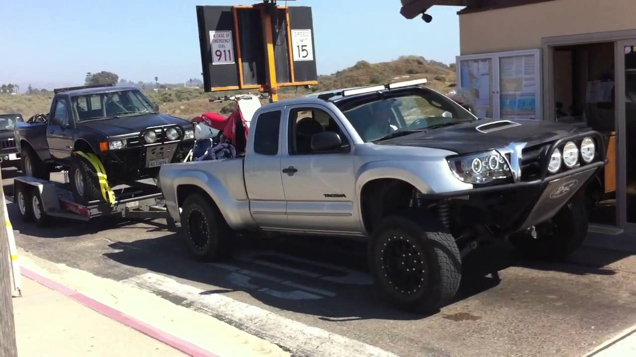Loaded Down Long Travel Tacoma Pismo Huckfest Youtube