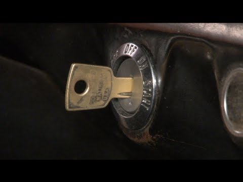 Mustang Ignition Switch 19651966 Installation  YouTube