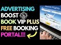 NEW Advertising Boost Book VIP Plus Travel Booking Portal - MUST SEE -