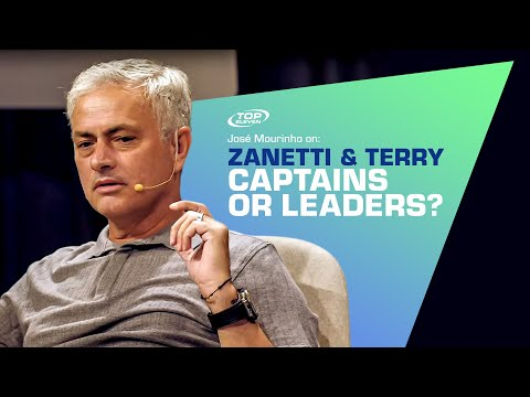 José Mourinho on: Captains vs. Leaders - Javier Zanetti & John Terry | Top Eleven
