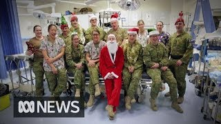 Aussie defence force personnel wish their families a Merry Christmas | ABC News