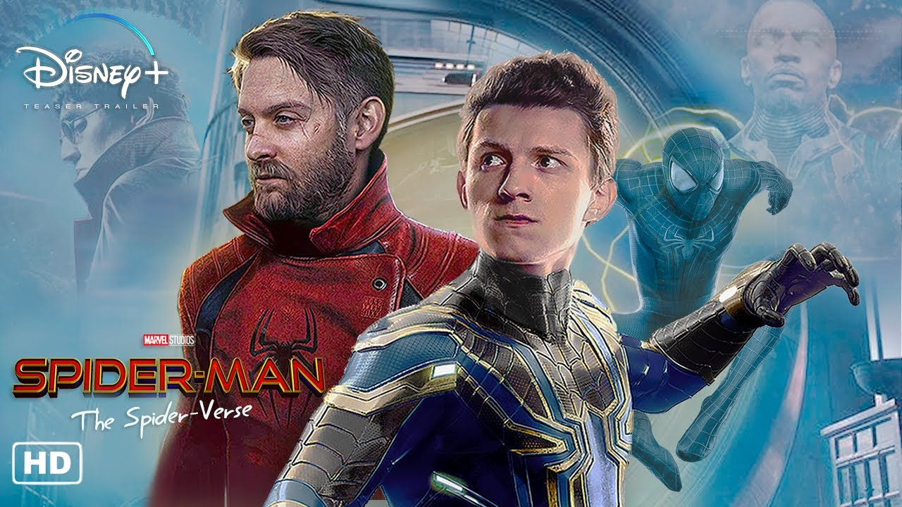 Marvel's SPIDER-VERSE Trailer #1 HD | Disney+ Concept | Tom Holland, Tobey Maguire