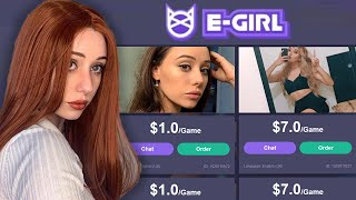 i signed up to a rent an e-girl website...
