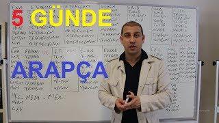 5 GÜnde A2 ArapÇa ÖĞrenİyorum Ders 2