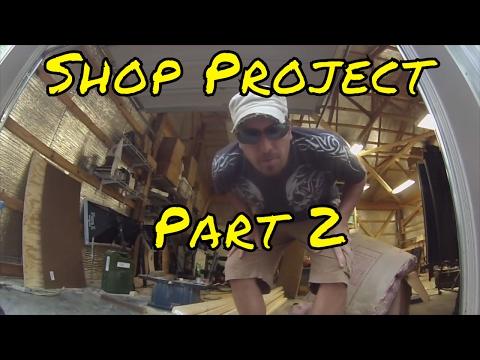 Shop Project Part 2, Solar Power, & Chris Cornell Tribute
