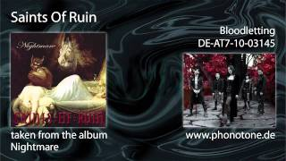 Saints Of Ruin - Bloodletting
