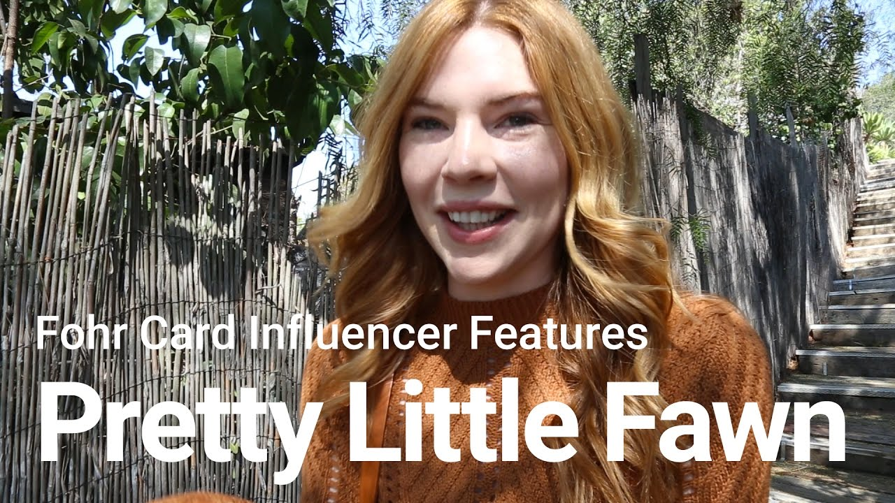 3a178e6063c9e Fohr Card Influencer Features  Courtney Halverson (Pretty Little Fawn) -  YouTube