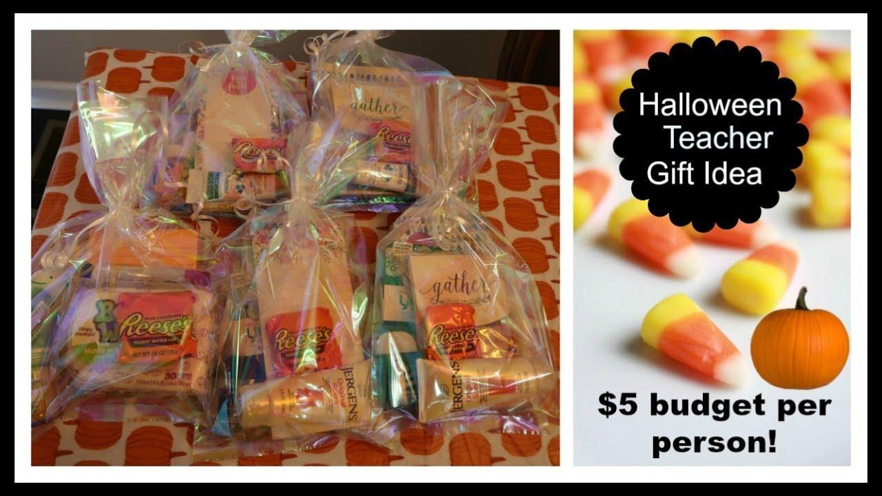 Halloween Gift Ideas For Teachers.Halloween Budget Diy Gift Idea For Teachers Friends Or Family
