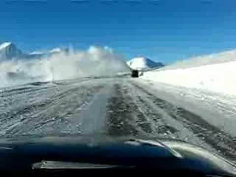 Haines Highway-Yukon, Canada-Snowthrower Action