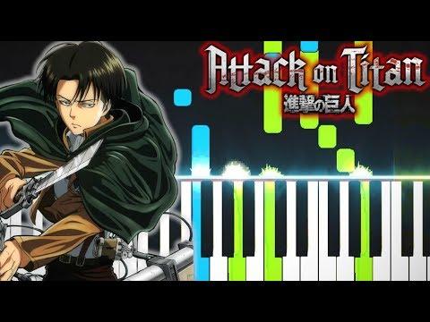"Attack On Titan Season 3 OP【進撃の巨人】 - ""Red Swan"" (Piano - ピアノ)"