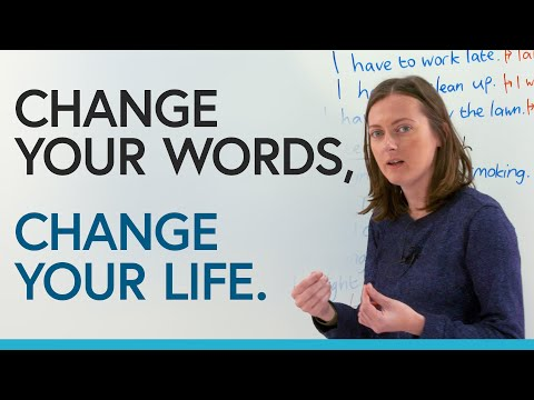 Change your life by changing how you speak