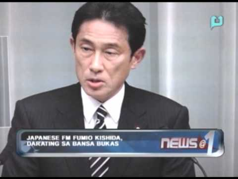 Japanese FM Fumio Kishida, darating sa bansa bukas