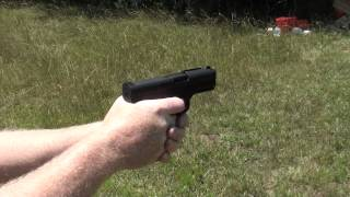 Caracal C Model 9mm Range Test