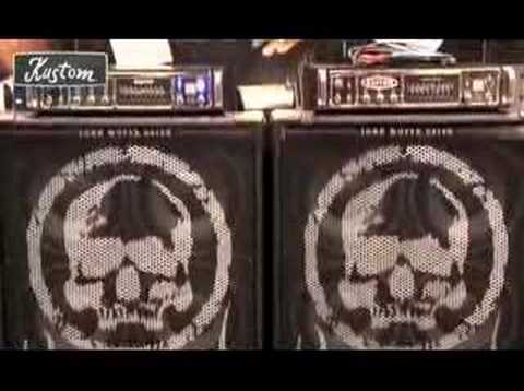 John Moyer of Disturbed talks about his Kustom Bass Rig